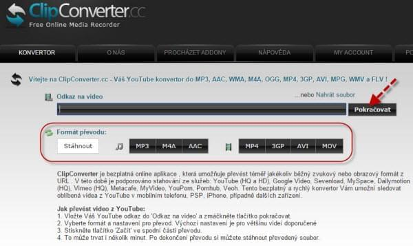 clicpconverter avi to mp4